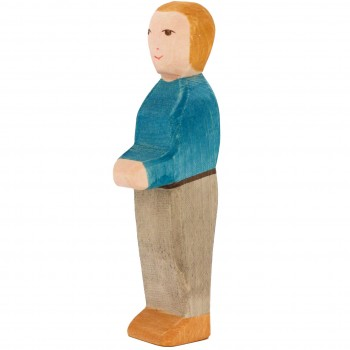 Vater Holzfigur 14,5 cm hoch