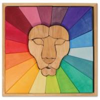 Bauspiel Regenbogenlöwe – 27 Teile