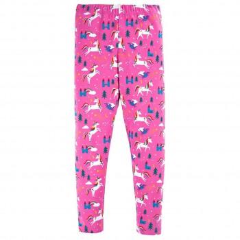 Leggings magische Einhörner in pink
