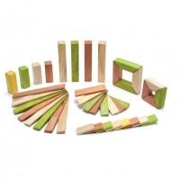 Vorschau: Magnet-Holzbauklötze- Explorer-Set Jungle 40-teilig