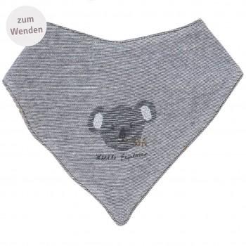 Wende Dreiecktuch Koala schiefergrau melange