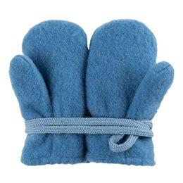 Baby Woll Fleece Fäustel pastell blau