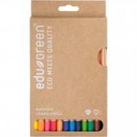 Öko dicke Buntstifte 12 Stifte in Schachtel
