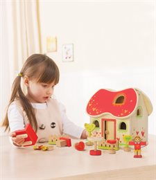 Puppenhaus für zu Hause und unterwegs - schadstofffrei