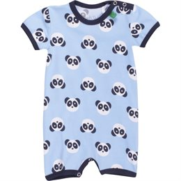 Leichter Beachbody Babystrampler Panda