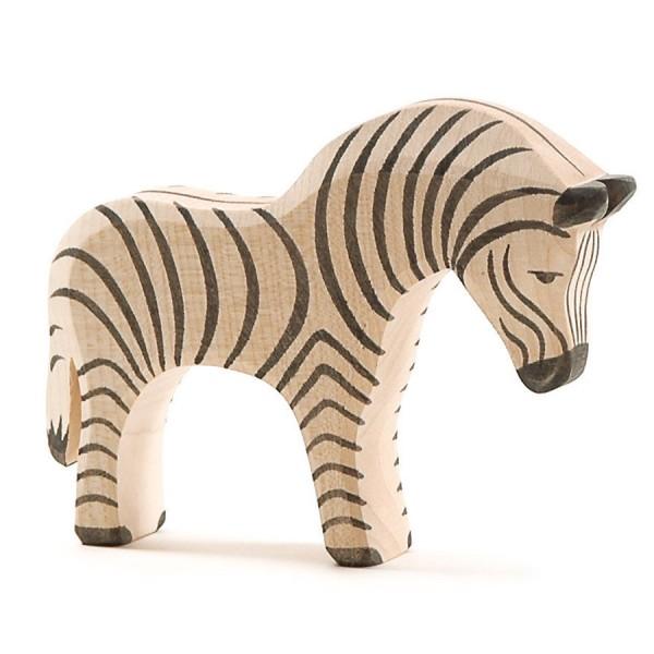 Holzfigur Zebra Holzfigur 12 cm hoch