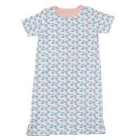 Mädchen Nachthemd für Sommer aus Biobaumwolle