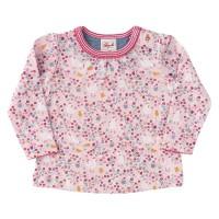Langarm Shirt Hühnchen rosa