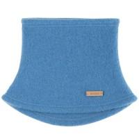 Schlauchschal atmungsaktiv aus Schurwolle - blue
