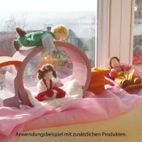 Vorschau: Bauhaus mit Tragetasche pink orange