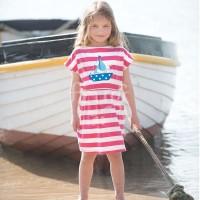 frugi Sommerkleid mit Bündchen & Taschen