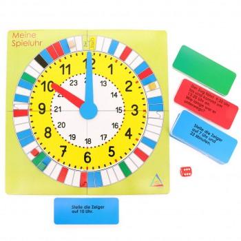 Uhrzeit Spiel - Lernspiel für Kinder ab 7 Jahren