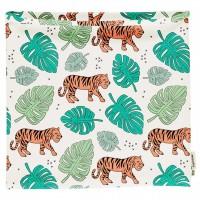 Schlauchschal leicht Jungle Tiger in hellblau 98/104
