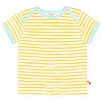 Shirt kurzarm Tiger-Streifen gelb