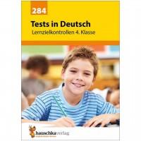Deutsch Übungsheft Lernzielkontrollen 4. Klasse