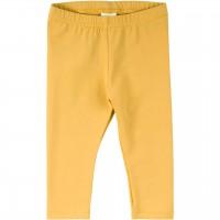 Leichte Leggings elastisch uni in gelb