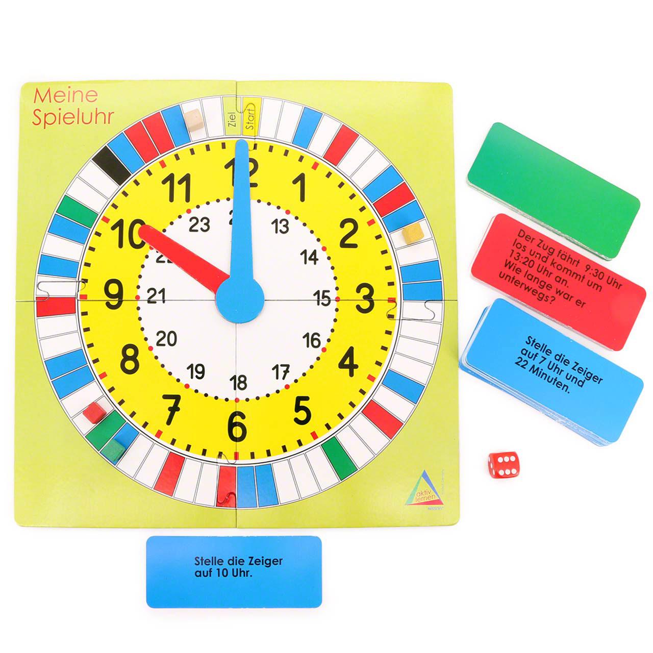 Uhrzeit Spiel   Lernspiel für Kinder ab 20 Jahren