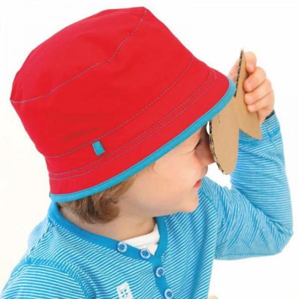 Sommermütze Fischerhut mit UV Schutz - als Wendemütze!