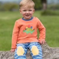 Kuschliges Sweatshirt mit Knöpfen