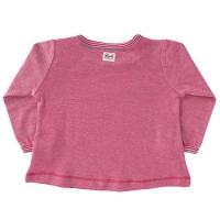 Vorschau: Langarm Shirt pink Hühnchen
