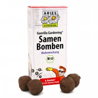 Samenbomben Set 8 Stück – Mohnblumen