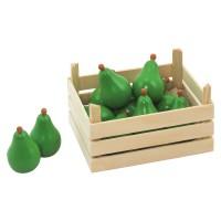 Obst Kiste für Kaufmannsladen - Birnen