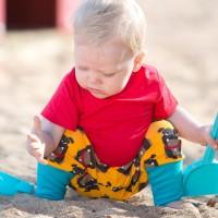 Mitwachsende Krabbelhose - mein Revier