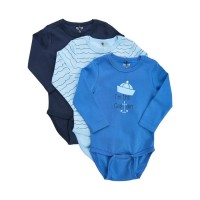 3er Pack Body blau Captain