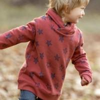 Sweat Pullover Sternen-Druck
