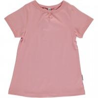 Kurzarm Shirt A-Linie altrosa