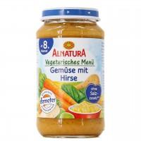 Babybrei Gemüse mit Hirse für Babys ab 8 Monaten (220 g)