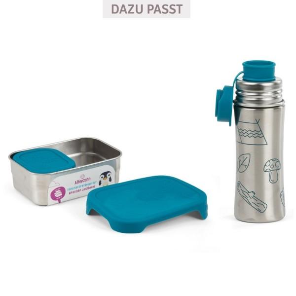 Edelstahl Trinkflasche Sportverschluss petrol