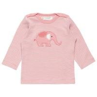 Baby Langarmshirt mit knuffigem Elefant