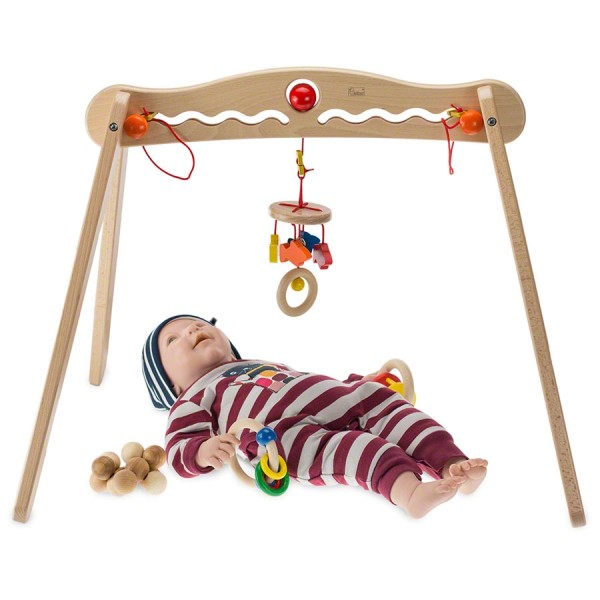Baby Spielbogen incl. 3 verstellbaren Greiflingen