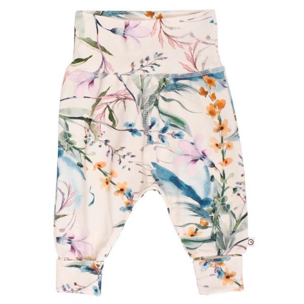 Edle Retro-Blumen Hose