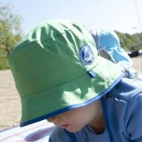 Sportlicher Fischerhut mit Bändchen