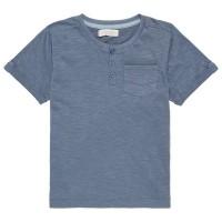 Jungen Shirt kurzarm in jeans-blau