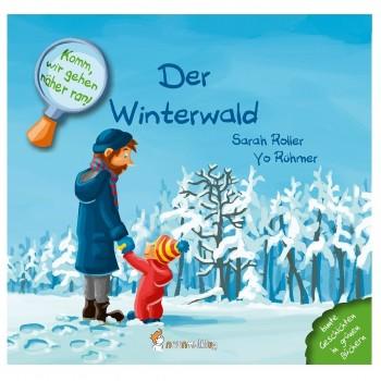 Pflanzlich gefärbtes Buch ohne Chemie  Winter