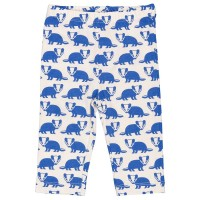Bio Leggings Dachs blau