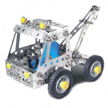 Metallbauset Kinder 8-15+ Jahre Nutzfahrzeuge 195 tlg