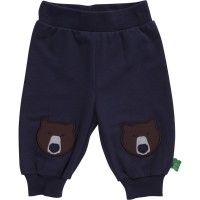 Bärig warme Sweat Krabbelhose von green cotton