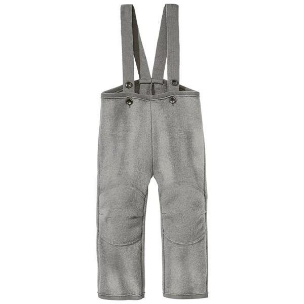 Walkhose super warme Schurwolle grau