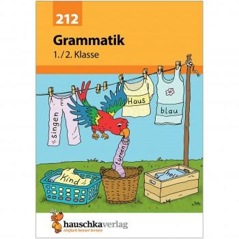 Deutsch Grammatik Übungsheft 1. bis 2. Klasse