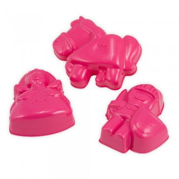 Sandform Prinz u. Hexe - pink