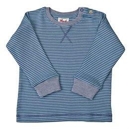 Bio Baby Shirt softe Bündchen blau