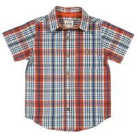 Vorschau: Jungen Hemd aus hochwertiger Biobaumwolle