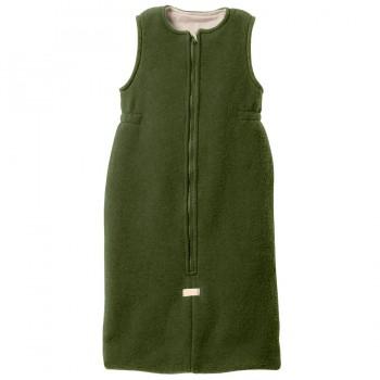 Babyschlafsack Schurwolle oliv-grün
