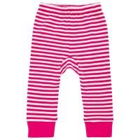 Babyleggings lässig pink gestreift