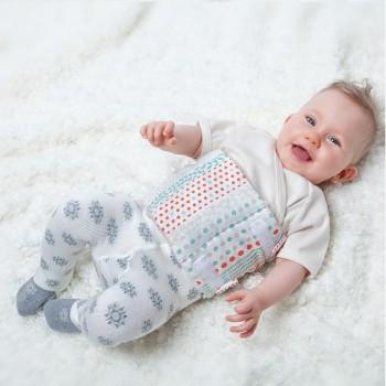 Bio-Brust- und Bauchwickel für Babys 1-12 Monate