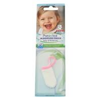 Milchzähne Pflegen mit einem Stofffinger - ab dem 1. Zahn